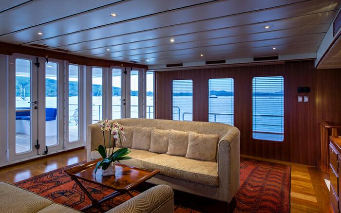 Yacht Northern Sun Salon