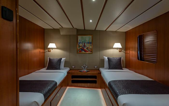 Yacht Northern Sun Twin Cabin