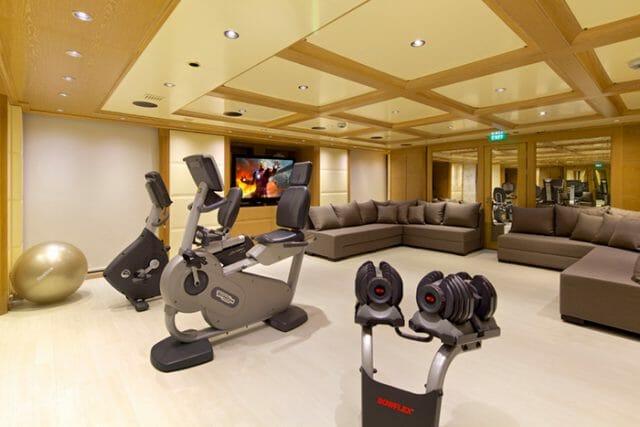 Yacht O'Mega Gym