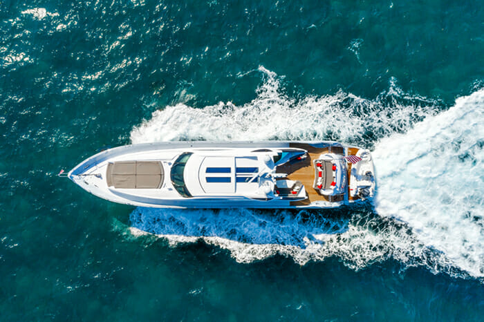 Yacht Privee aerial view