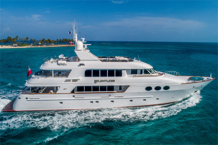 Yacht Relentless profile
