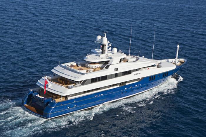 Yacht Sarah Deck View