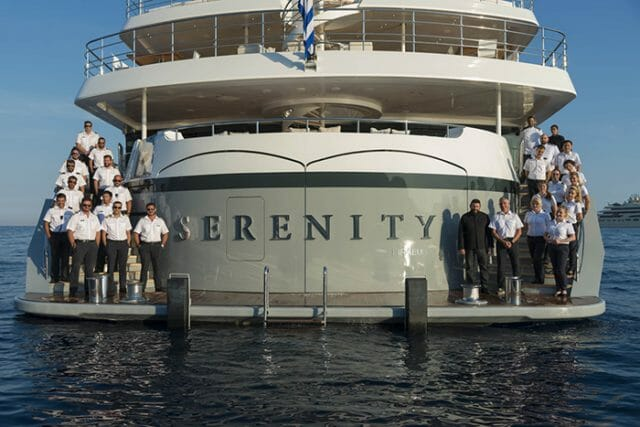 Yacht Serenity name