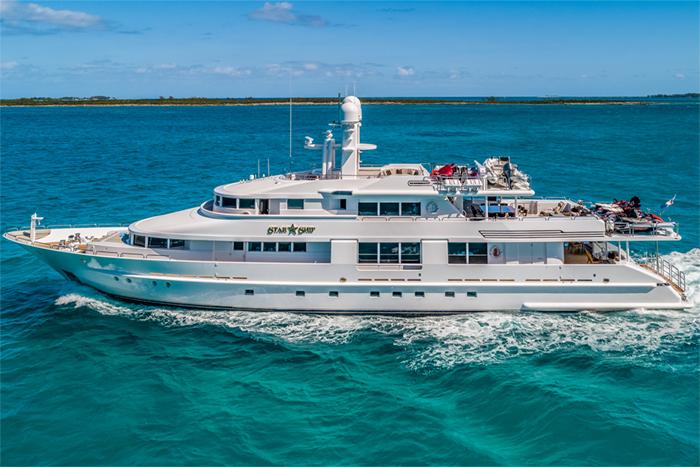 Yacht Starship profile