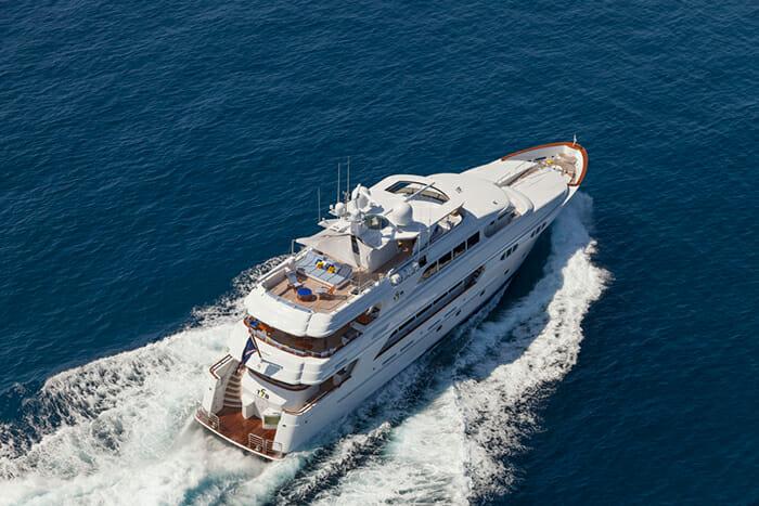 Yacht TCB Aerial