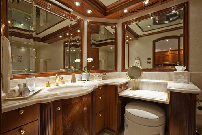 Yacht TCB Master Bathroom Hers