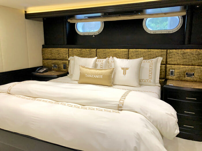 Yacht Tanzanite Guest Stateroom 1