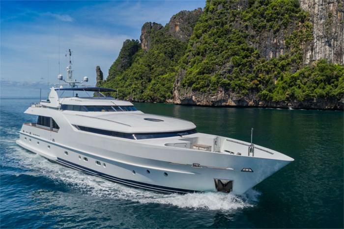 Yacht Xanadu of London