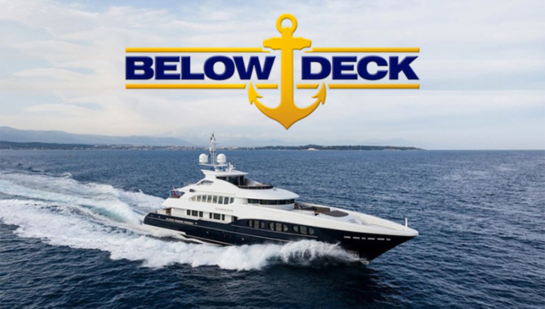Yacht with Below Deck logo