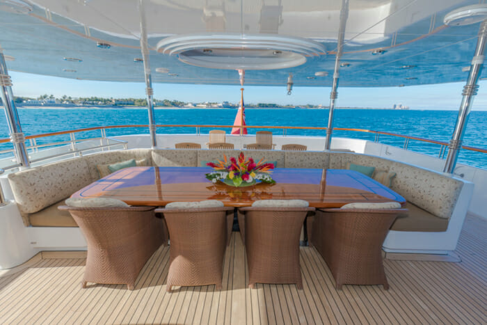 Allegria bridge deck
