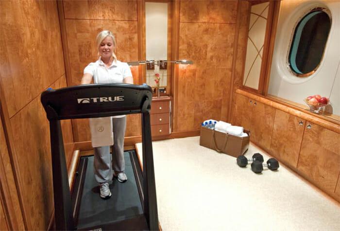 Allegria gym / convertible single cabin