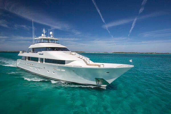 AMITIE Yacht Charter   130' Westport motor yacht