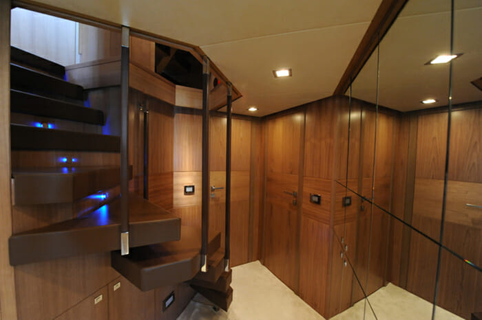 Amore Mio VIP cabins foyer