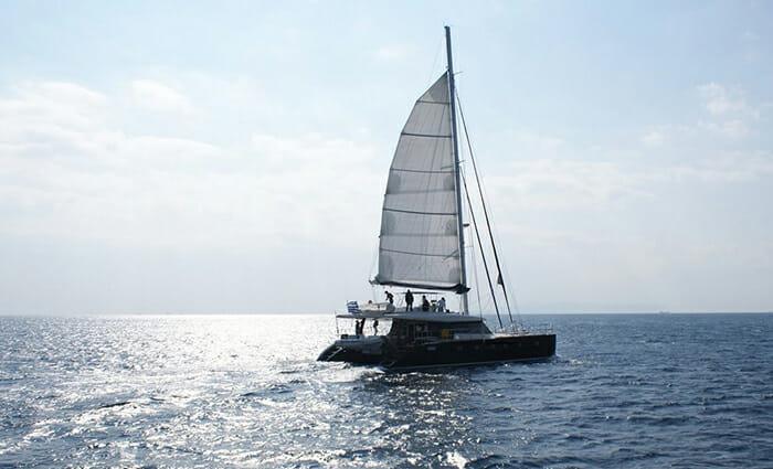 Anassa sailing