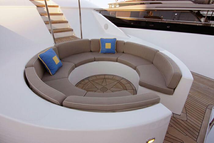 Antares forward deck
