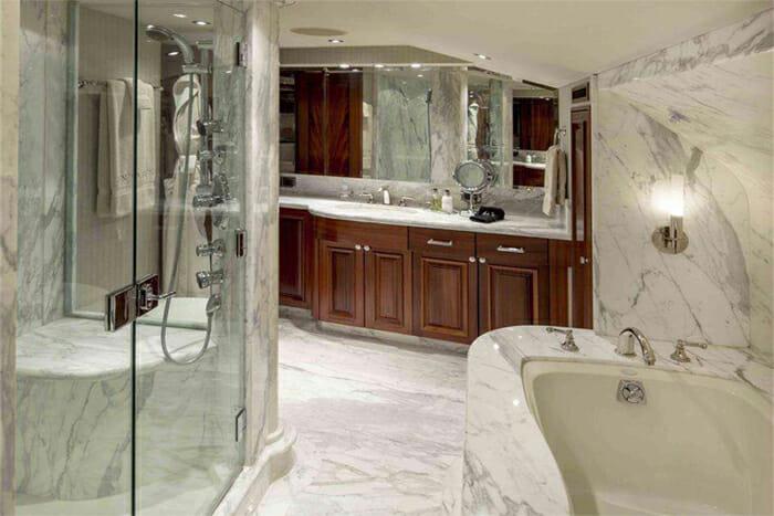 Antares master bathroom
