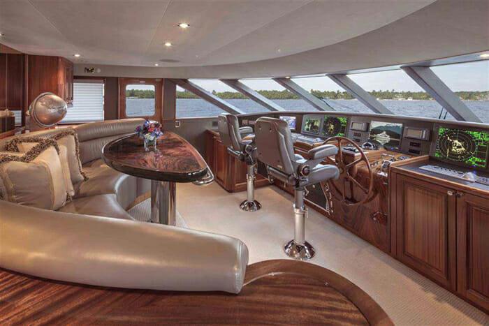Antares wheelhouse