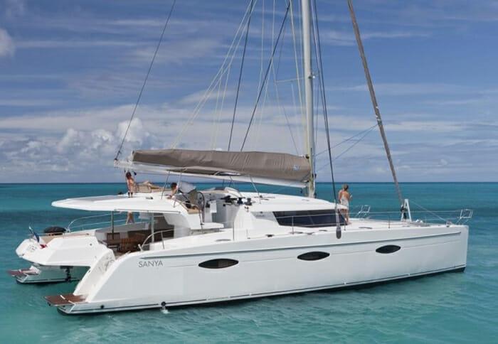 Aoibh catamaran