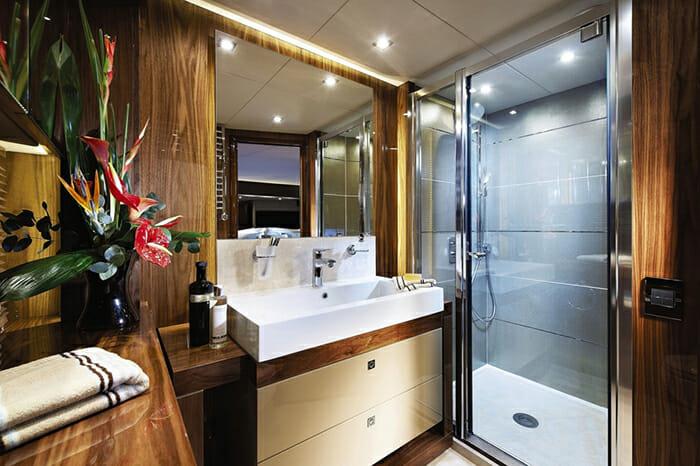 Aqua Libra guest bathroom