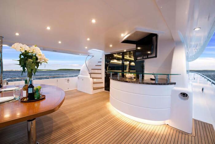 Aqua Life aft deck