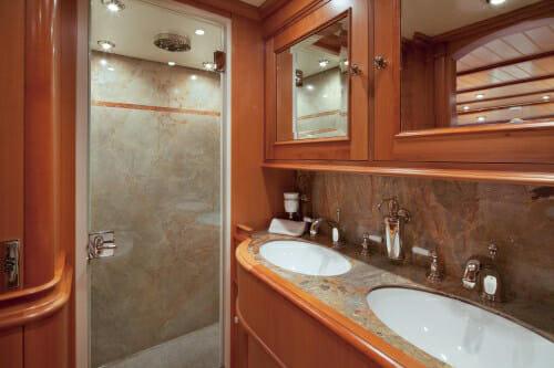 Athos guest bathroom