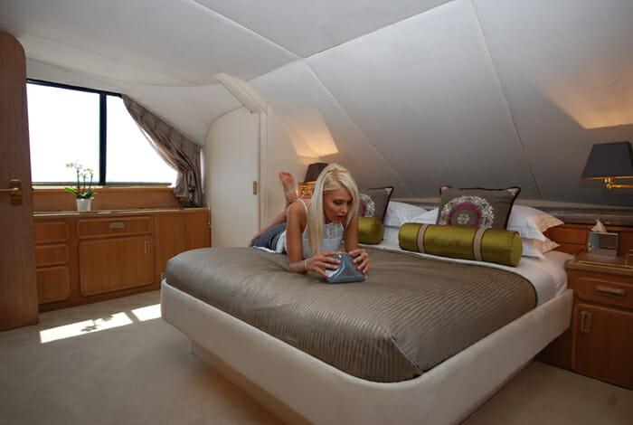 Atlantic Endeavour master cabin