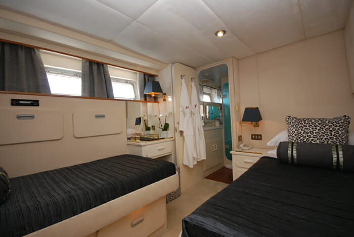 Atlantic Endeavour twin cabin