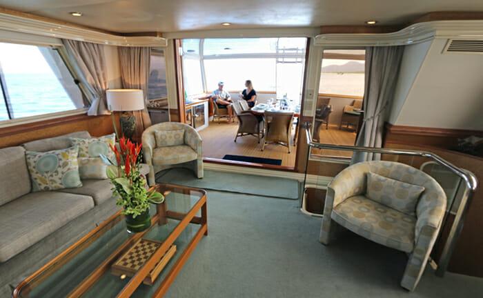 Bahama salon and deck