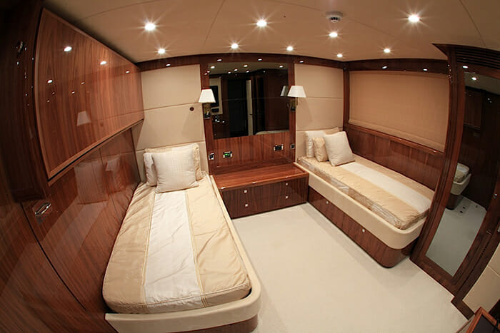 Barracuda Red Sea twin cabin