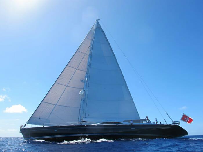 Bella Ragazza sailing