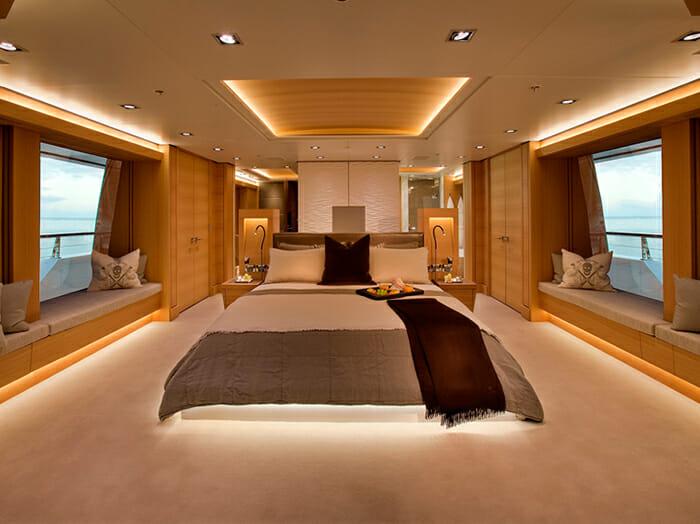 Big Fish master cabin