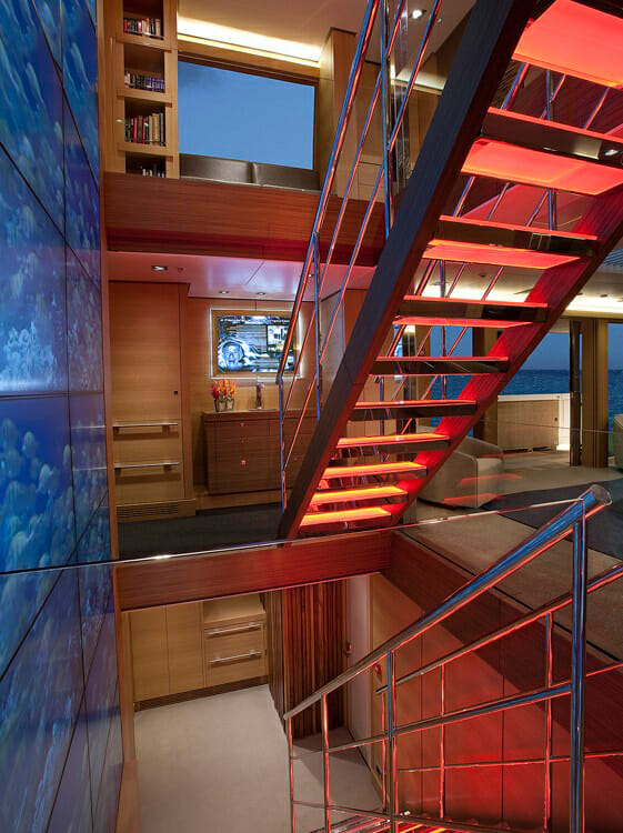 Big Fish stairs