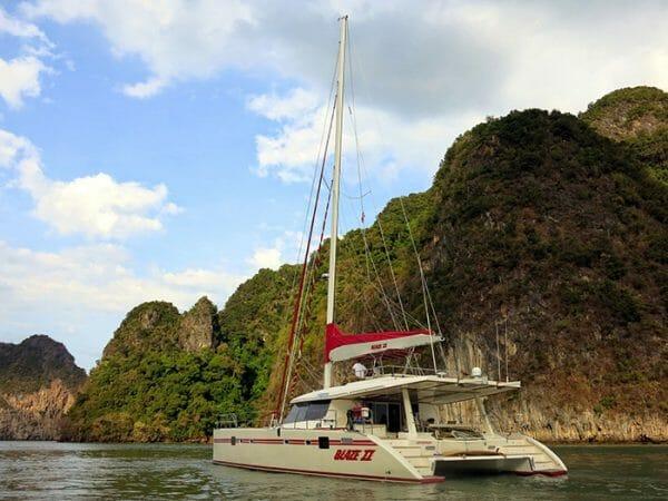 BLAZE II Yacht Charter | 62' Sunreef catamaran