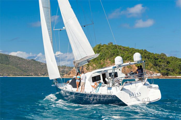 Bliss sailing