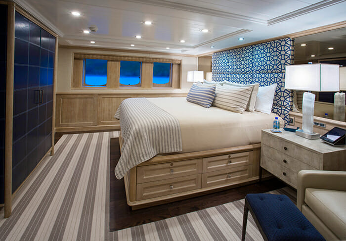 Broadwater master cabin
