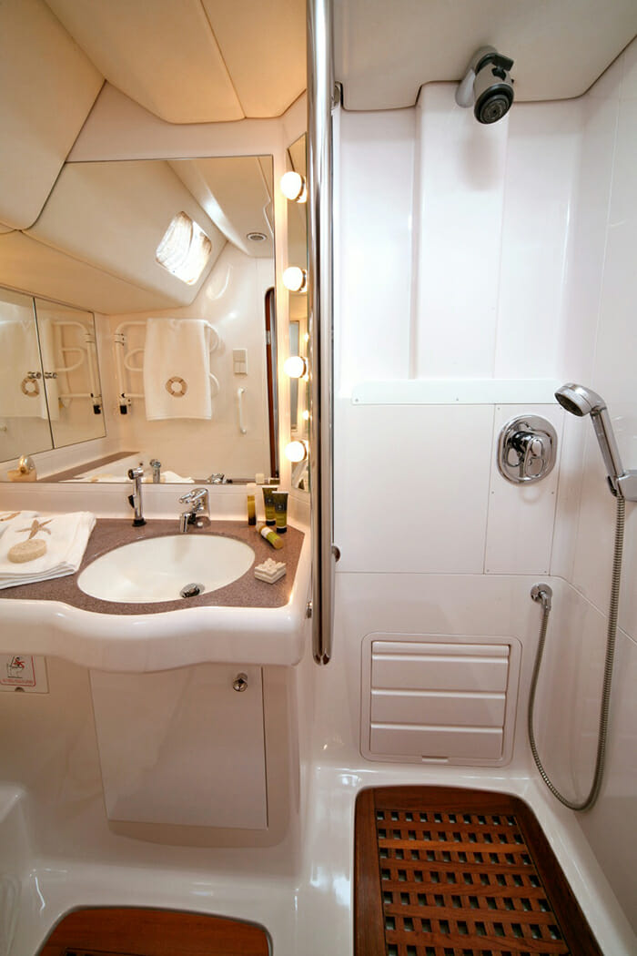 Callisto guest bathroom