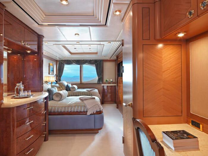 Capri I twin cabin on main deck