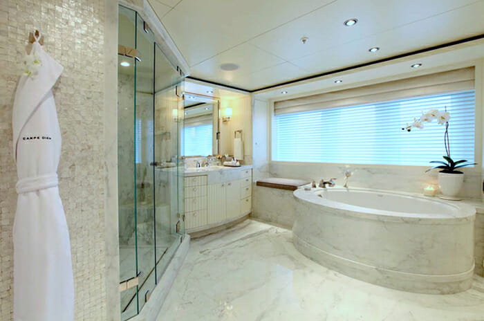 Carpe Diem master bathroom hers