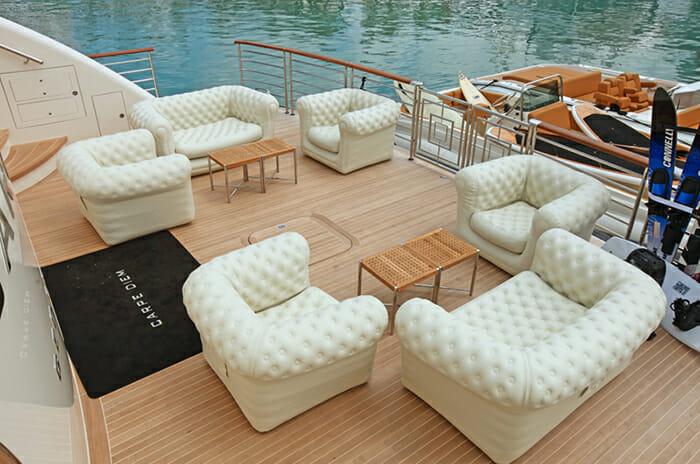 Carpe Diem swim platform