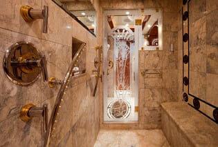 Carte Blanche master shower