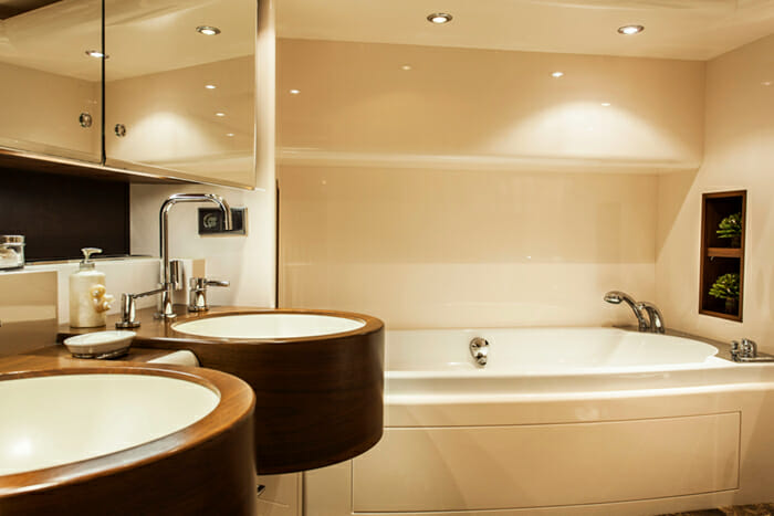 Charisma master bathroom
