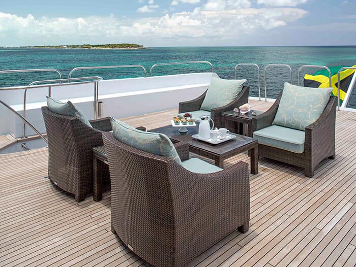 Cherish II skylounge deck