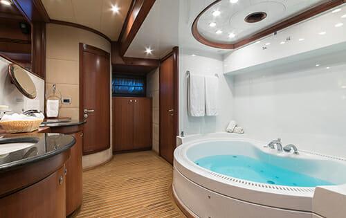 Clarity master bathroom