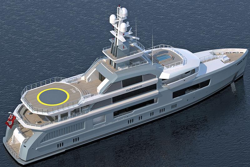 Yacht Cloudbreak