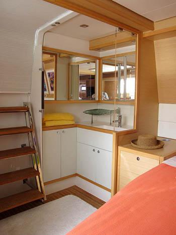 Copper Penny master cabin