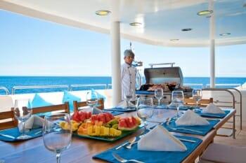 Cormorant deck dining