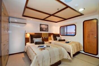 Cormorant twin stateroom