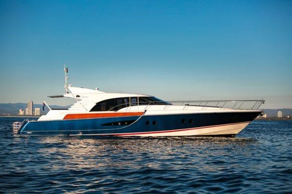 Yacht Crystal Blue