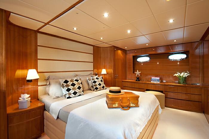 Dilias master cabin