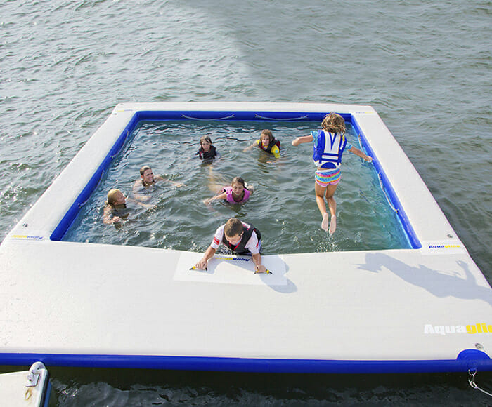 Don Michele inflatable pool